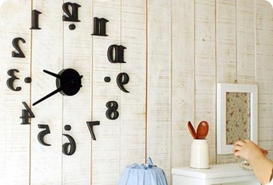 Đồng hồ dán tường độc đáo làm đẹp không gian nhà bạn - Chỉ với 90.000đ