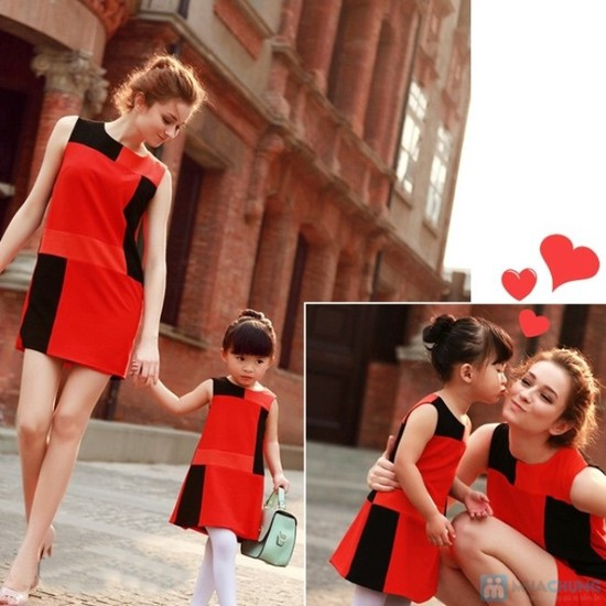 Combo đầm đôi cho mẹ và bé