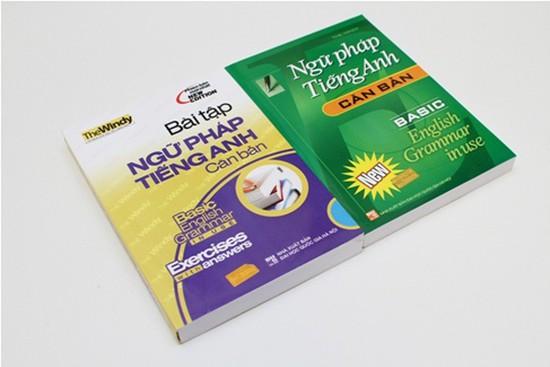 2 cuốn Ngữ pháp tiếng Anh căn bản + Bài tập ngữ pháp tiếng Anh căn bản - Bộ sách không thể thiếu cho người học tiếng Anh. Chỉ với 68.000đ