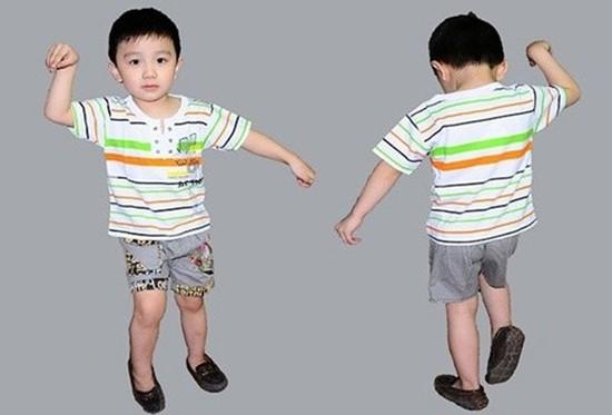 Bộ áo cộc, quần sooc cho bé trai chất liệu mềm, mát cho các bé thoải mái chơi đùa trong ngày hè - Chỉ với 85.000đ