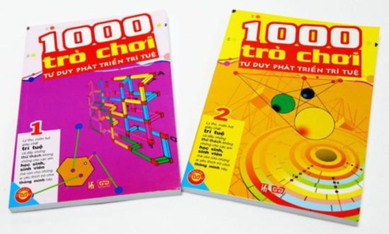 1000 trò chơi tư duy phát triển trí tuệ - Cuốn hút và đầy thử thách với những ai yêu thích các trò chơi thông minh. Chỉ với 54.000đ