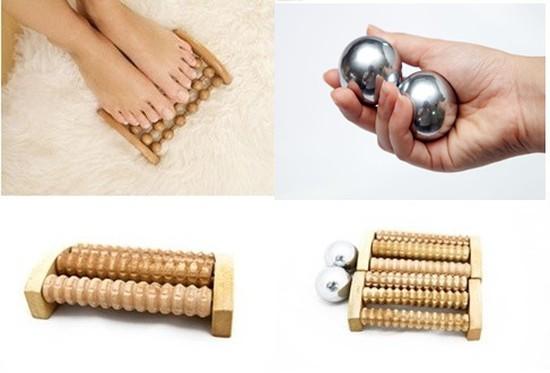Combo bộ Massage chân và tay độc đáo tốt cho người già, nhân viên văn phòng - Chỉ với 49.000đ