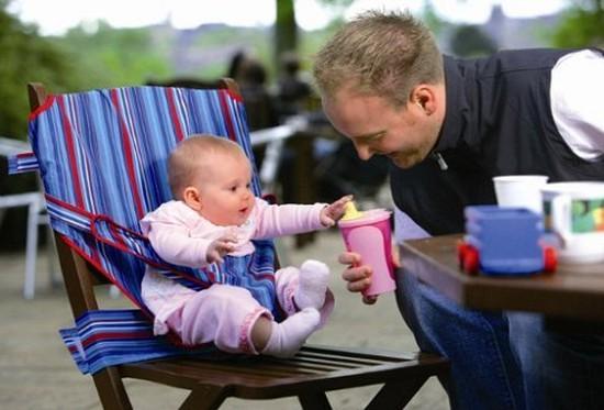 Đai ghế di động - Tạo cho bé sự thoải mái và an toàn tuyệt đối khi ăn - Chỉ 115.000đ/ 01 chiếc