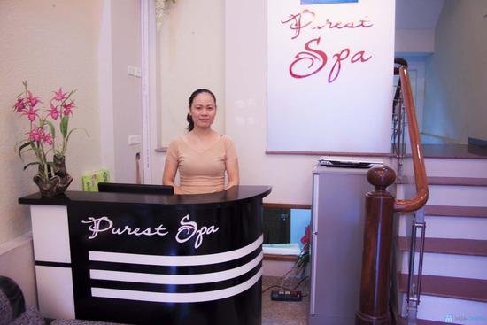 Tự tin dáng ngọc với gói Trị liệu giảm béo Thông kinh lạc tại Purest Spa - Chỉ 180.000đ