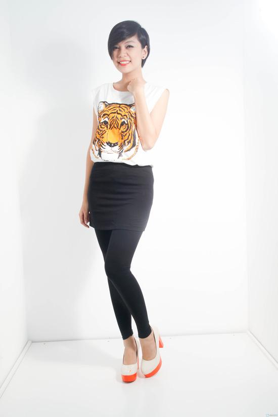 Quần legging liền váy - Nét cách điệu mới cho chiếc quần legging. Chỉ 85.000đ/01 chiếc