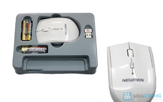 Bàn phím và Chuột không dây Newmen F300 - Đẳng cấp, bền đẹp và tiện dụng - Chỉ 485.000đ/01 chiếc
