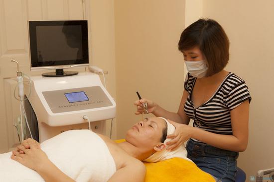 Trẻ hoá da mặt bằng tinh chất Tế bào gốc kết hợp phun Oxy tươi tinh khiết bằng máy Oxy Jet tại Ivy Spa - Chỉ với 150.000đ - 7