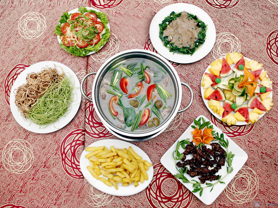 Thưởng thức nhiều món thơm ngon cho 03 - 04 người tại Cafe Capi - Chỉ 324.000đ - 1