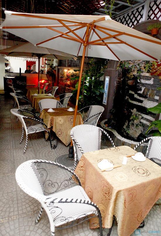 Thưởng thức nhiều món thơm ngon cho 03 - 04 người tại Cafe Capi - Chỉ 324.000đ - 14