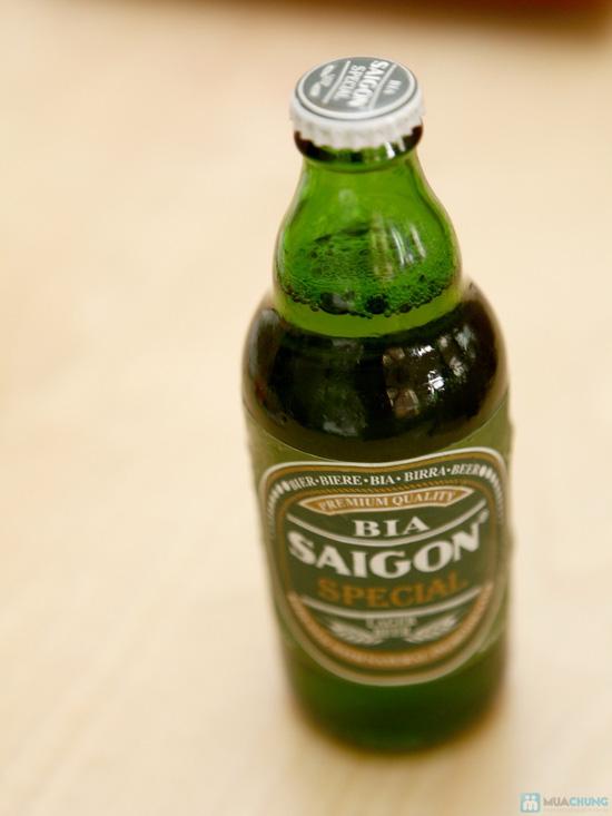 Lựa chọn 01 trong 03 loại Lẩu cực ngon: Lẩu gà, Lẩu sườn, Ếch om bia tươi tại Nhà hàng The Sun - Chỉ 229.000đ - 14