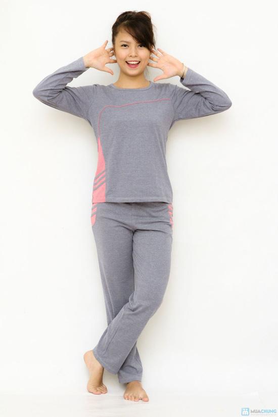 Bộ đồ mặc nhà Haprosimex (Có 2 màu hồng, ghi, hàng xuất Nhật) - 8