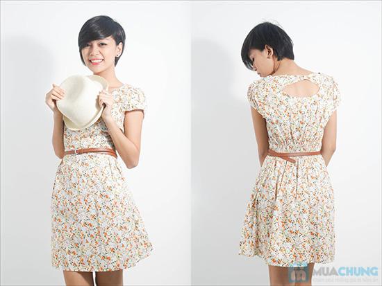 Nữ tính với đầm hoa duyên dáng - Cho bạn gái dễ thương và xinh xắn mỗi ngày - Chỉ 105.000đ/01 chiếc - 8