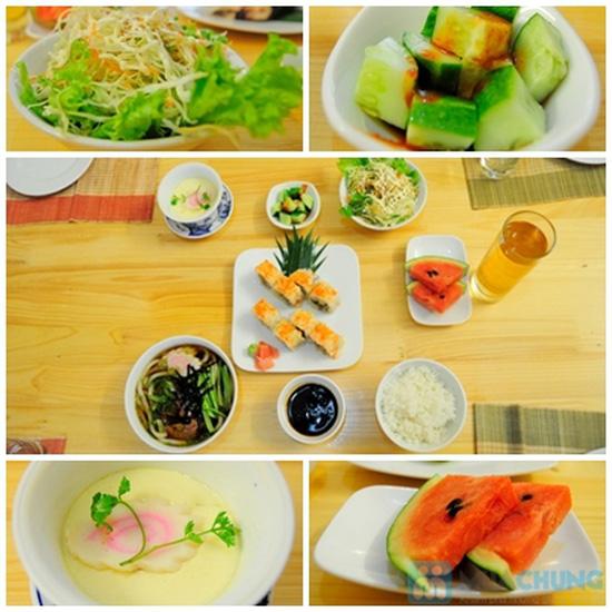 Set ăn trưa cho 02 người tại Nhà hàng Nhật Sushi Kazoku - Chỉ 115.000đ/suất - 7