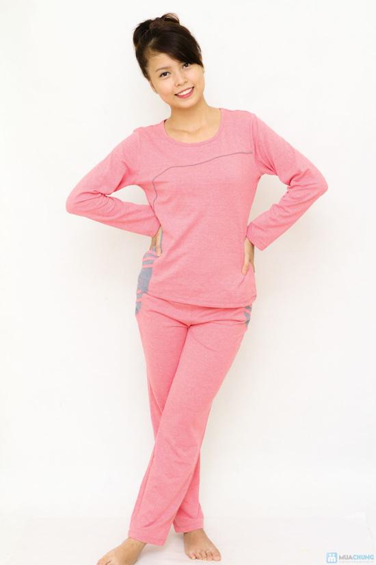 Bộ đồ mặc nhà Haprosimex (Có 2 màu hồng, ghi, hàng xuất Nhật) - 3