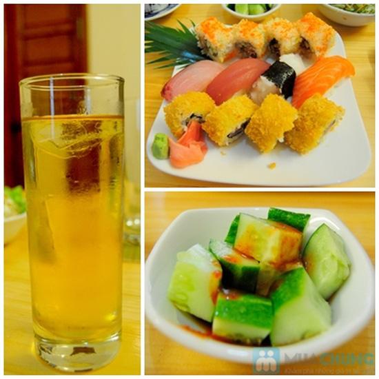 Set ăn trưa cho 02 người tại Nhà hàng Nhật Sushi Kazoku - Chỉ 115.000đ/suất - 5