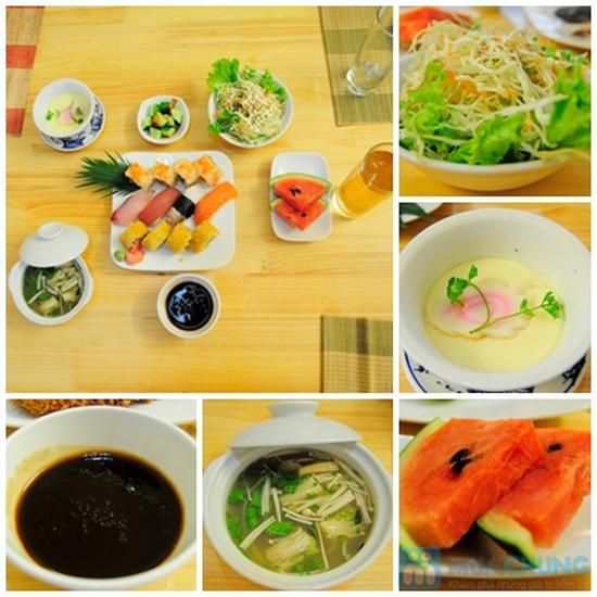 Set ăn trưa cho 02 người tại Nhà hàng Nhật Sushi Kazoku - Chỉ 115.000đ/suất - 6