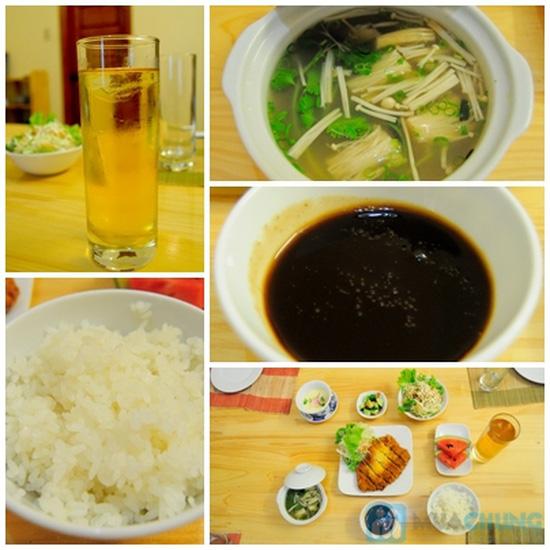Set ăn trưa cho 02 người tại Nhà hàng Nhật Sushi Kazoku - Chỉ 115.000đ/suất - 4
