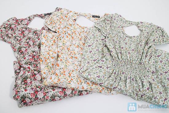 Nữ tính với đầm hoa duyên dáng - Cho bạn gái dễ thương và xinh xắn mỗi ngày - Chỉ 105.000đ/01 chiếc - 6