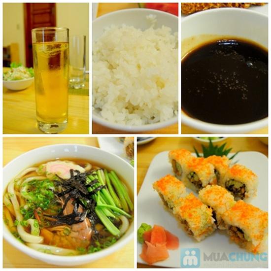 Set ăn trưa cho 02 người tại Nhà hàng Nhật Sushi Kazoku - Chỉ 115.000đ/suất - 8