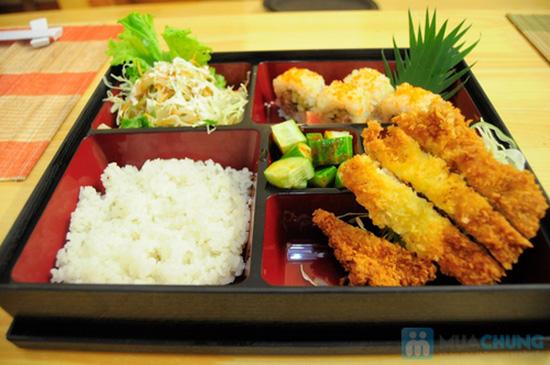 Set ăn trưa cho 02 người tại Nhà hàng Nhật Sushi Kazoku - Chỉ 115.000đ/suất - 10