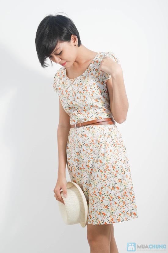 Nữ tính với đầm hoa duyên dáng - Cho bạn gái dễ thương và xinh xắn mỗi ngày - Chỉ 105.000đ/01 chiếc - 10