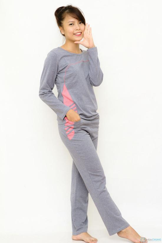 Bộ đồ mặc nhà Haprosimex (Có 2 màu hồng, ghi, hàng xuất Nhật) - 4