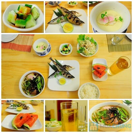 Set ăn trưa cho 02 người tại Nhà hàng Nhật Sushi Kazoku - Chỉ 115.000đ/suất - 2