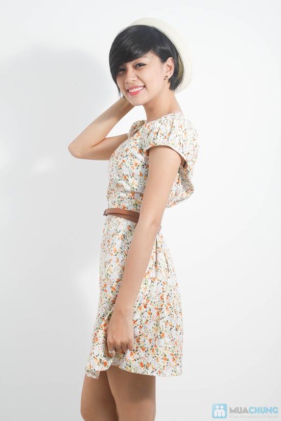 Nữ tính với đầm hoa duyên dáng - Cho bạn gái dễ thương và xinh xắn mỗi ngày - Chỉ 105.000đ/01 chiếc - 2