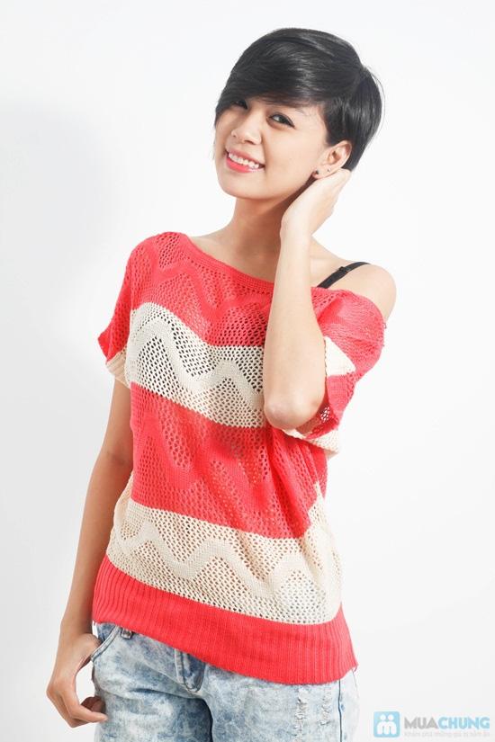 Đẹp dịu dàng và nữ tính với áo cánh dơi móc len xinh xắn - Chỉ 88.000đ/01 chiếc - 3