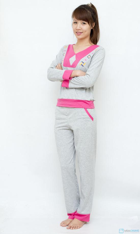 Bộ quần áo mặc nhà mùa thu đông cho bạn gái - 1