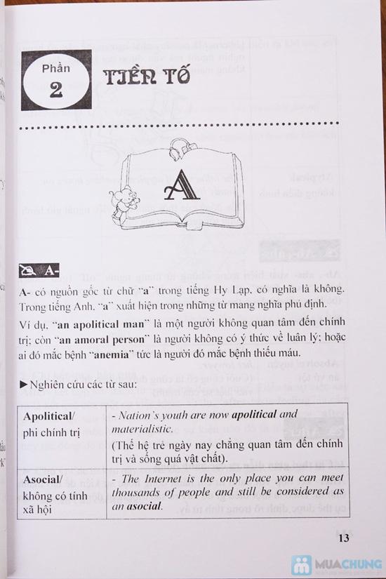 Nắm vững cấu tạo từ và kỹ năng viết tiếng Anh. Chỉ với 56.000đ - 4