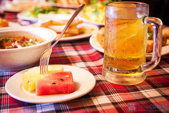 Set ăn 8 món: bánh mì cuộn cá chiên, gỏi thơm tôm thịt... trên du thuyền 5 sao Indochina Junk. Chỉ 290.000đ/ 01 - 8