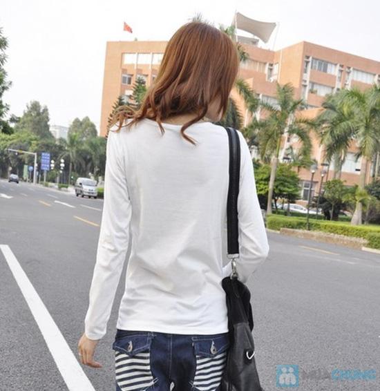 Áo phông nữ dài tay duyên dáng mùa thu - Chỉ 85.000đ/01 cái - 8