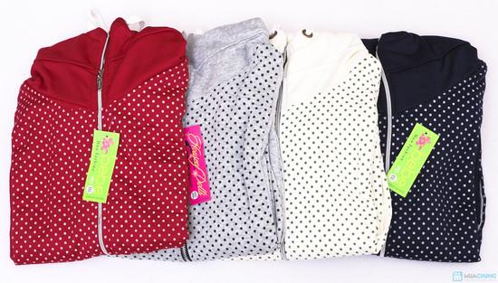 Nữ tính và sành điệu với áo khoác chấm bi xinh xắn dành cho bạn gái - Chỉ 141.000đ/01 chiếc - 1