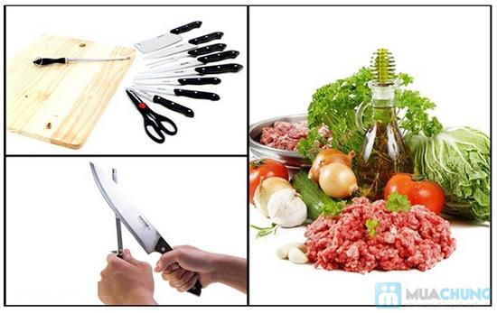 Bộ dao thớt 10 món tiện dụng cho gia đình - Chỉ 168.000đ - 1