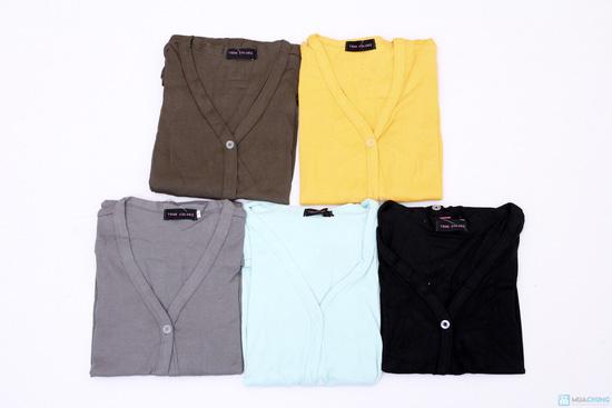 Áo cotton khoác nhẹ dài tay - 1