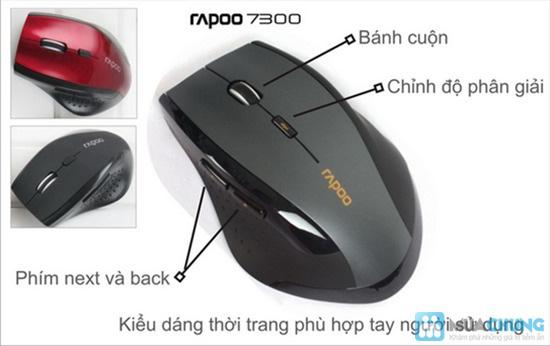 Chuột không dây Rapoo 7300, kết nối với máy tính một cách dễ dàng - Chỉ 120.000đ - 1