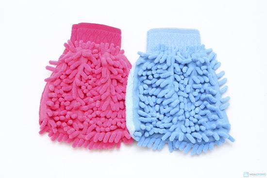 combo 2 găng tay và 1 khăn lau siêu thấm(TQ) - 2