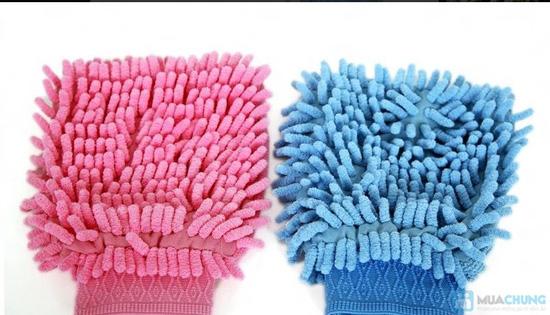 combo 2 găng tay và 1 khăn lau siêu thấm(TQ) - 1