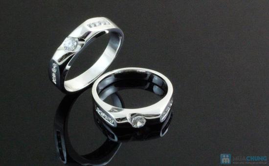 Món quà ý nghĩa thể hiện tình yêu chân thành, ngọt ngào của hai bạn với Cặp đôi nhẫn bạc 925 - Chỉ với 475.000đ - 6