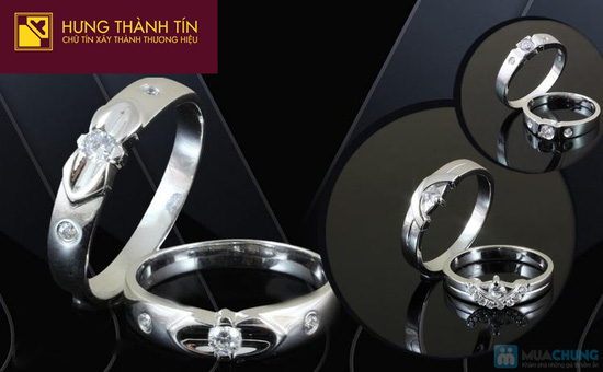 Món quà ý nghĩa thể hiện tình yêu chân thành, ngọt ngào của hai bạn với Cặp đôi nhẫn bạc 925 - Chỉ với 475.000đ - 2