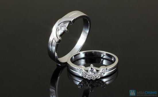 Món quà ý nghĩa thể hiện tình yêu chân thành, ngọt ngào của hai bạn với Cặp đôi nhẫn bạc 925 - Chỉ với 475.000đ - 7