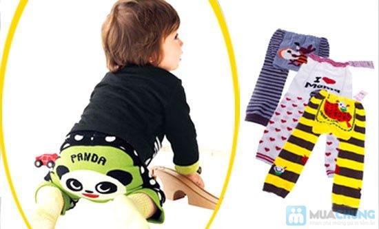 Combo 3 quần len mông thú cho bé - 1