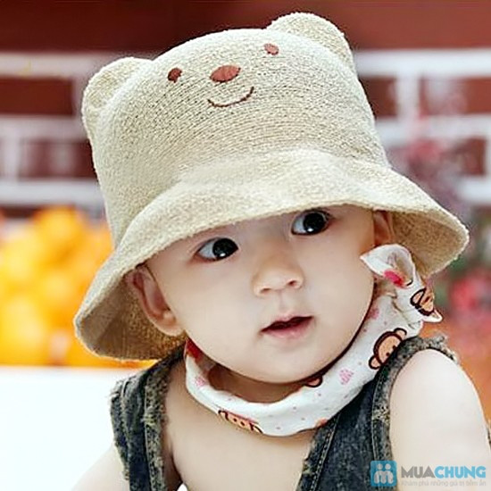 Nón baby nhiều họa tiết xinh xắn phong cách Hàn Quốc cho bé yêu - Chỉ 90.000đ/01 chiếc - 9