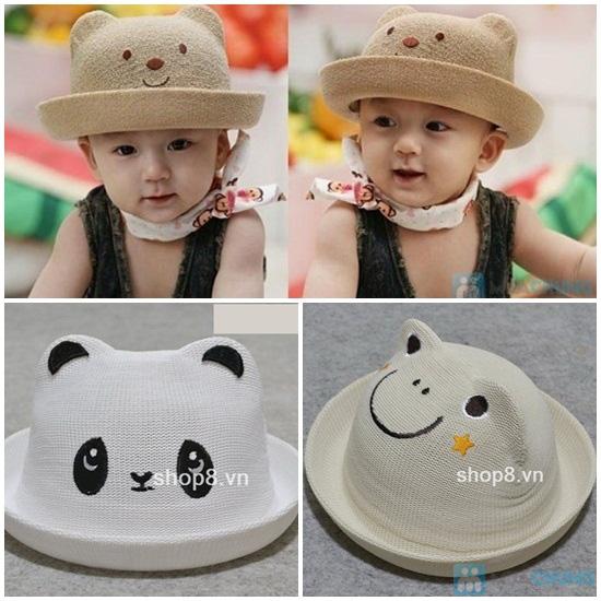 Nón baby nhiều họa tiết xinh xắn phong cách Hàn Quốc cho bé yêu - Chỉ 90.000đ/01 chiếc - 1