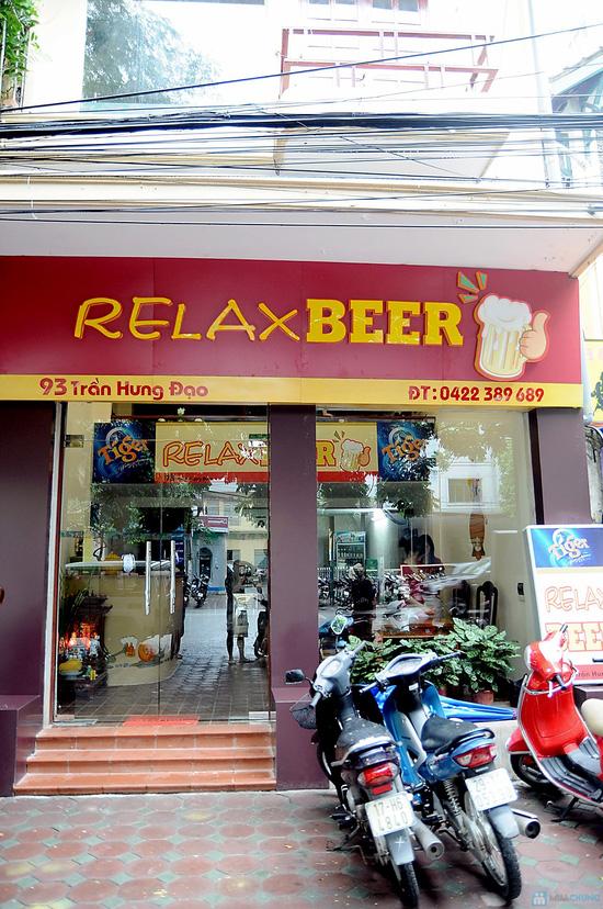 Uống bia tại Relax Beer chỉ với 332.000 đ - 1