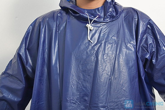 Áo mưa vải nhựa dày dặn, kín 2 bên hông, dài tay - An toàn, phơi mau khô, không bết dính - Chỉ 60.000đ/01 chiếc - 2