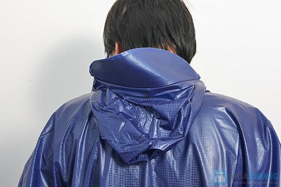 Áo mưa vải nhựa dày dặn, kín 2 bên hông, dài tay - An toàn, phơi mau khô, không bết dính - Chỉ 60.000đ/01 chiếc - 3