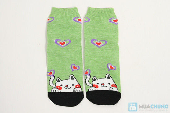 Tất dành cho bạn gái - Giữ ấm và làm điệu cho chân bạn trong mùa lạnh. Chỉ 62.000đ/ 05 đôi - 4