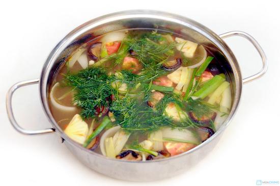Thưởng thức Cá Tầm, Tôm sấy tuyết... cho 04 - 06 người tại Nhà hàng Phù Đổng Thiên Vương - Chỉ với 520.000đ - 11